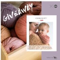 Entra en el pequeño universo del hilo Cotton In Love y su revista monográfica con modelos para mamás y bebés