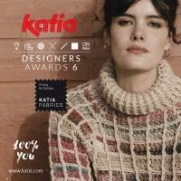 Llega el concurso creativo Katia Designers Awards 6 con 3 técnicas por categoría: punto, ganchillo y costura