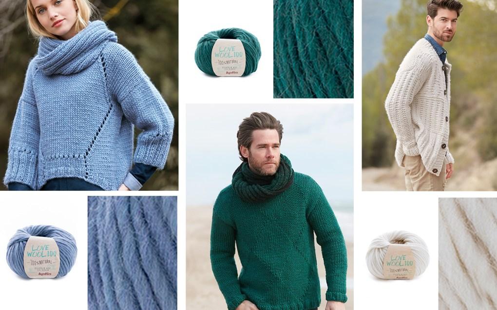 laines katia automne hiver 2018 love wool 100