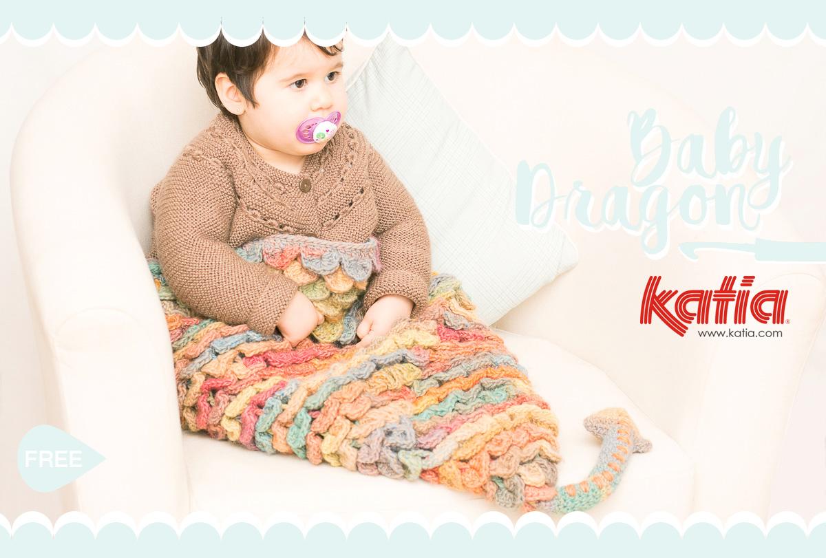 ❤ Amigurumi Bebé Dragón - Baby Dragon Amigurumi | 811x1200