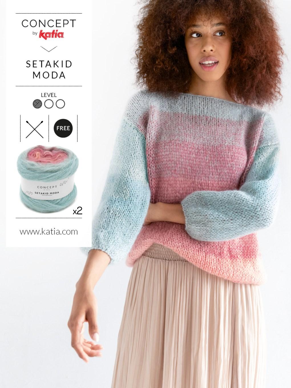 pulls faciles au tricot et crochet