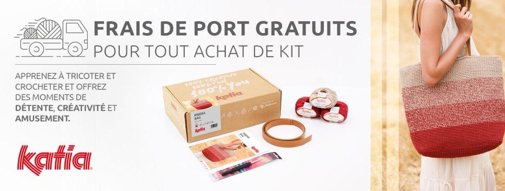 kits and fun frais de port gratuits