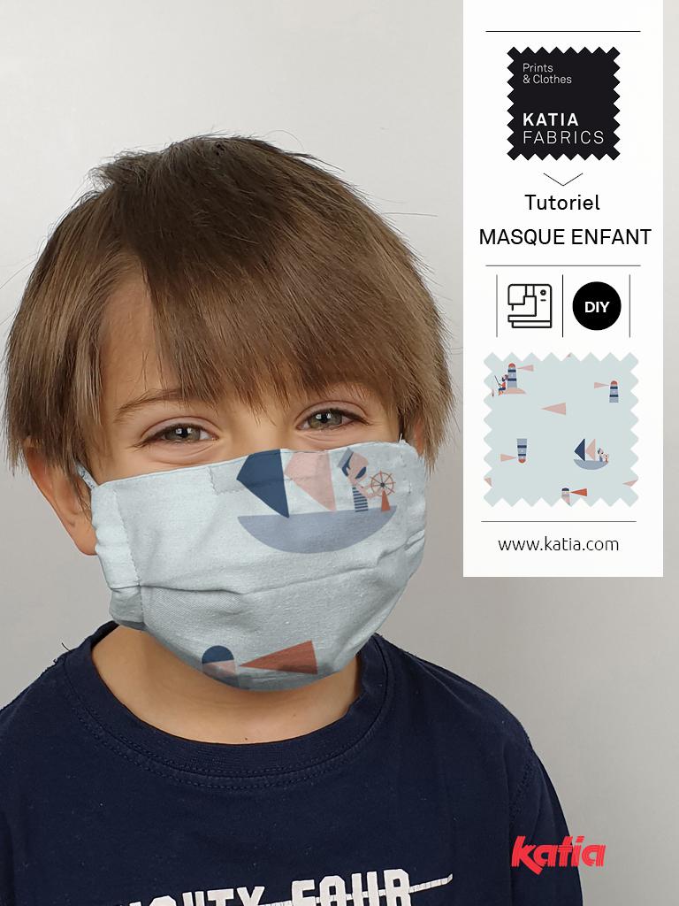 comment coudre un masque à filtre pour enfant 2