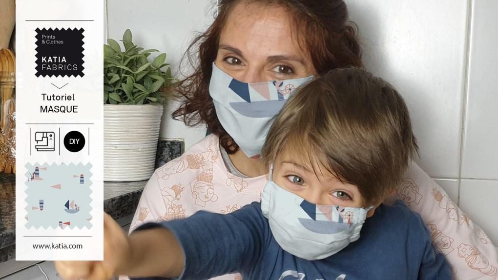 comment coudre un masque à filtre