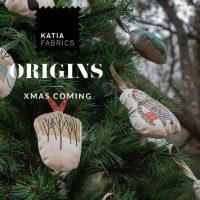 🎄 Faites votre propre décoration de Noël avec nos panneaux et participez au tirage au sort d'un lot de tissus Katia Fabrics