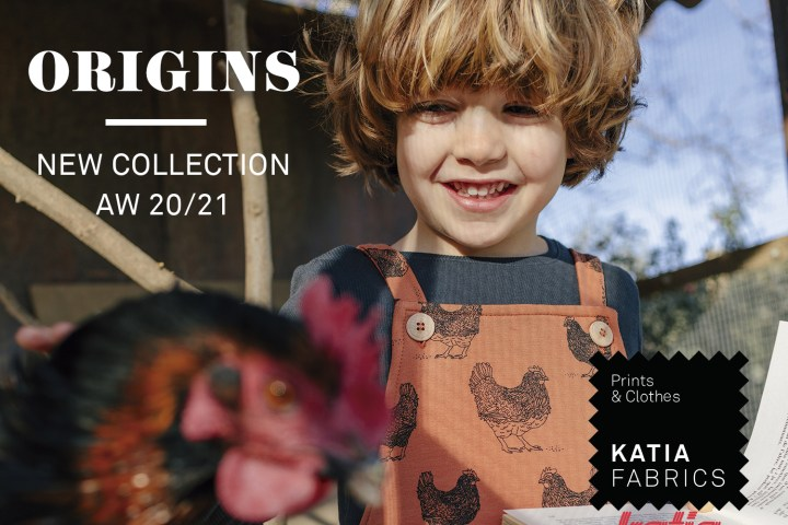 Origins nouvelle collection tissus feat