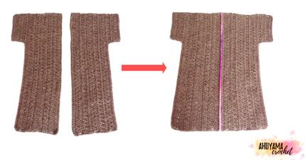 Comment crocheter un manteau
