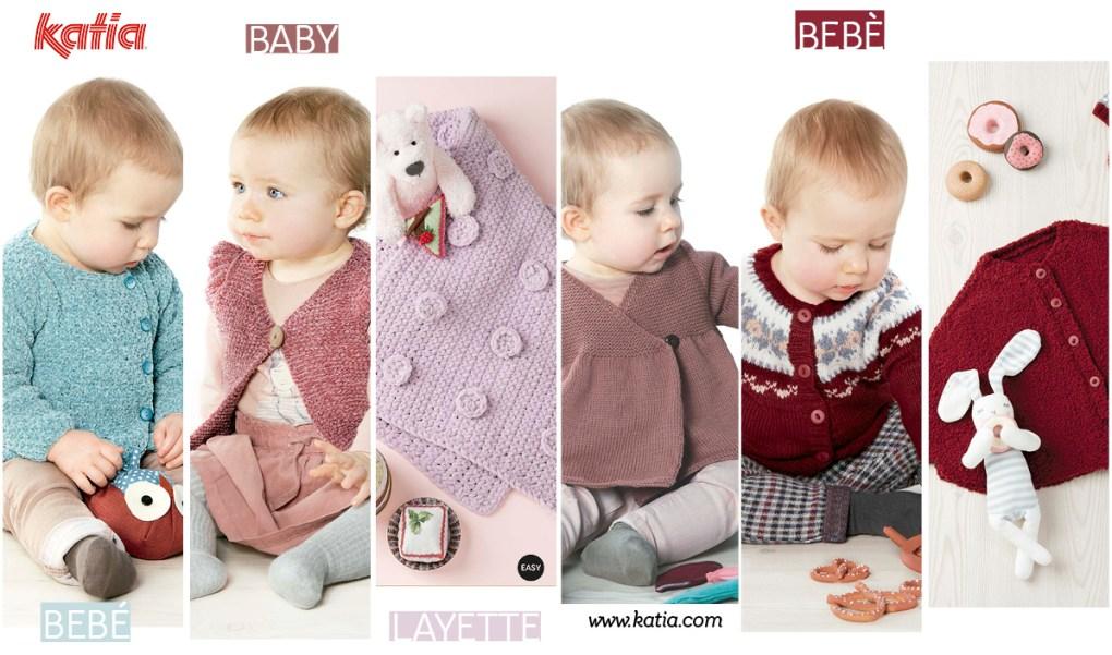 patrons au tricot bébé