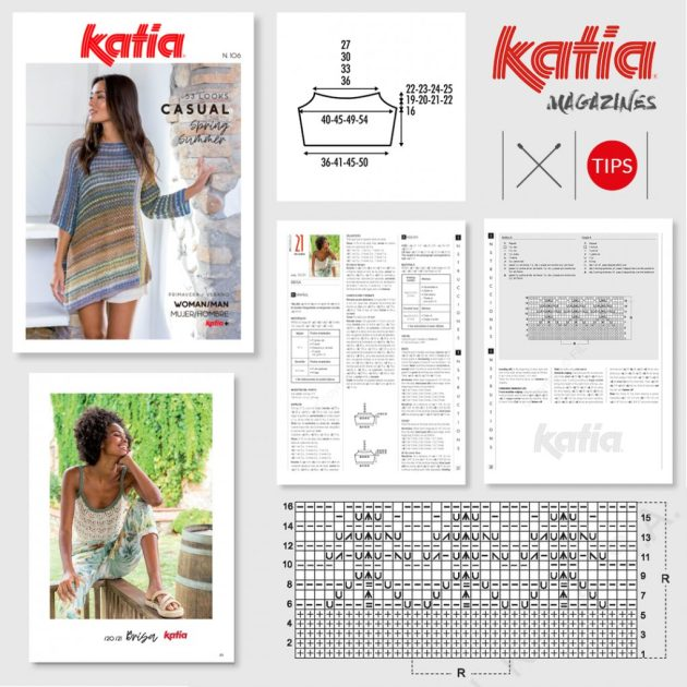 conseils à suivre pour réaliser facilement modèles Katia Feat