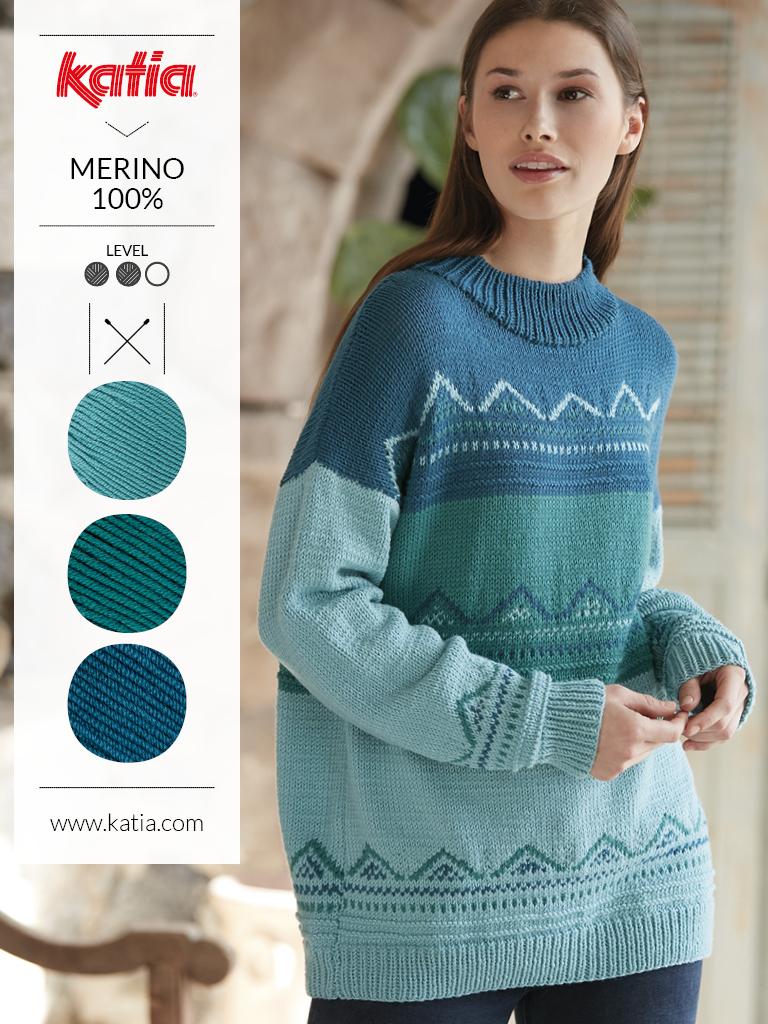 couleurs tendance et laine mérinos dégradé