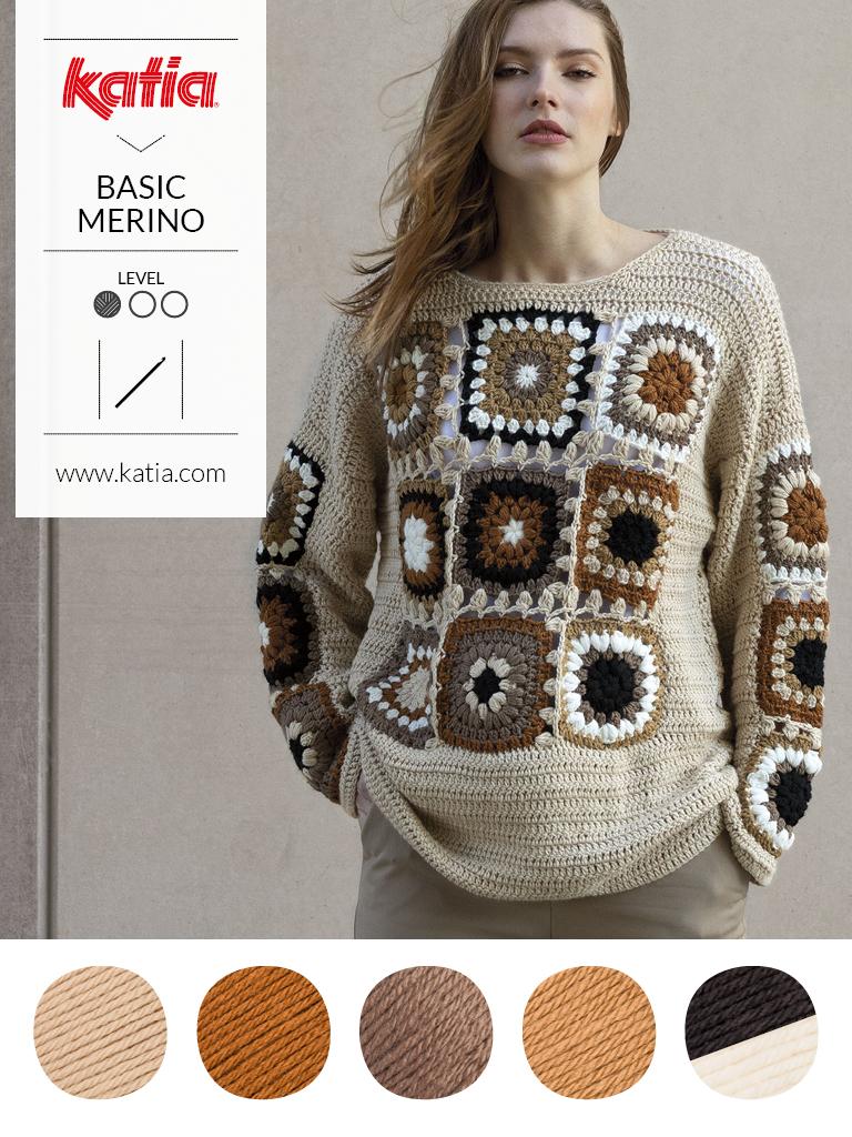 couleurs tendance et laine mérinos granny