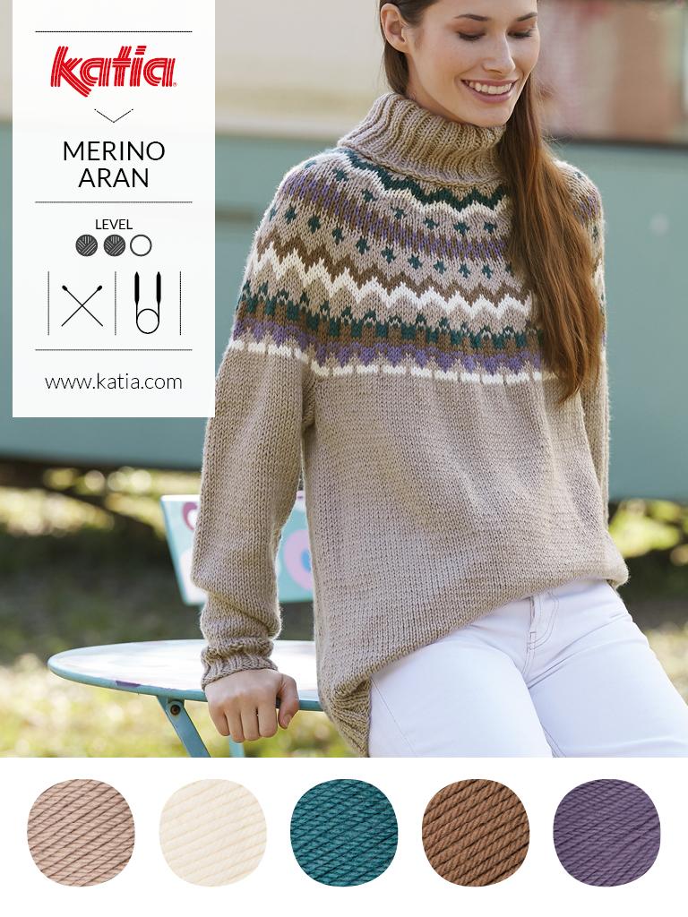 couleurs tendance et laine mérinos nordique