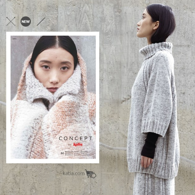 modèles tricot crochet minimalistes katia concept feat