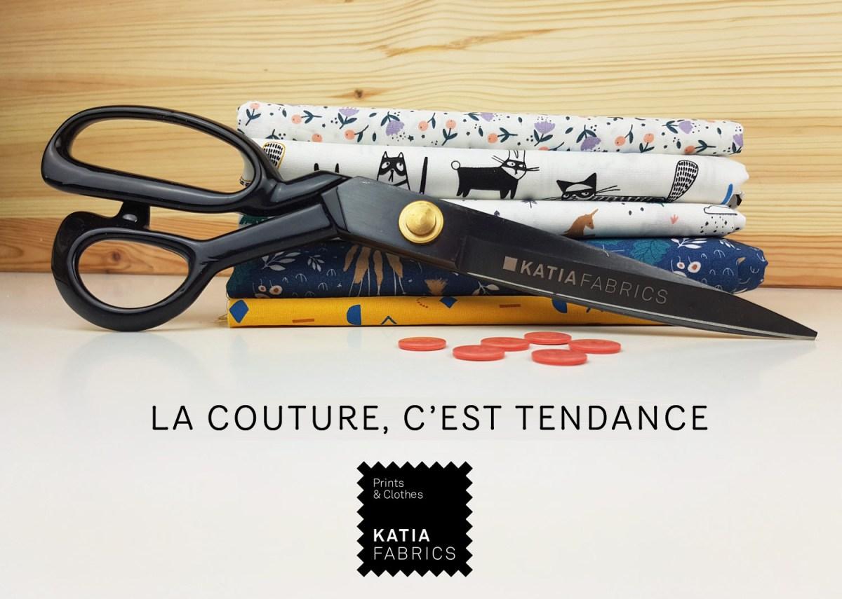 La couture, c'est tendance! Apprenez à coudre avec Katia Fabrics