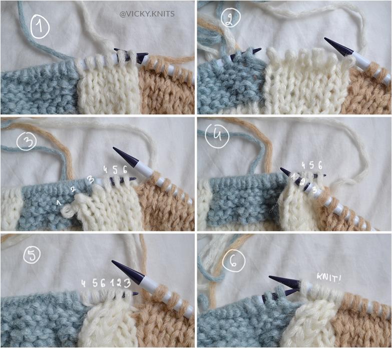 instarsia tricot