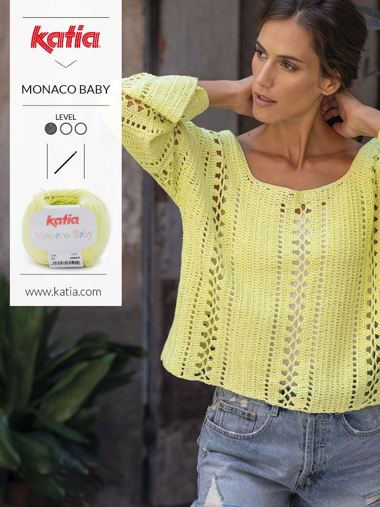 10 tops crochet monaco baby