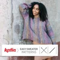 Confectionnez votre premier pull fait main! 10 patrons tricot et crochet de pull simples à faire pour débutants