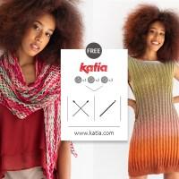 11 patrons gratuits de tricot et crochet de tops, robes et châles à faire avec seulement 1, 2 ou 3 pelotes