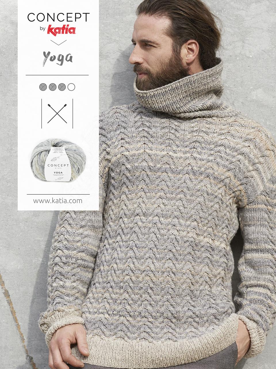 vêtements confortables tricot homme pull
