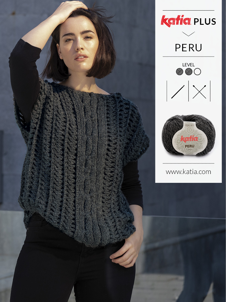 katia plus tricot grandes tailles 1