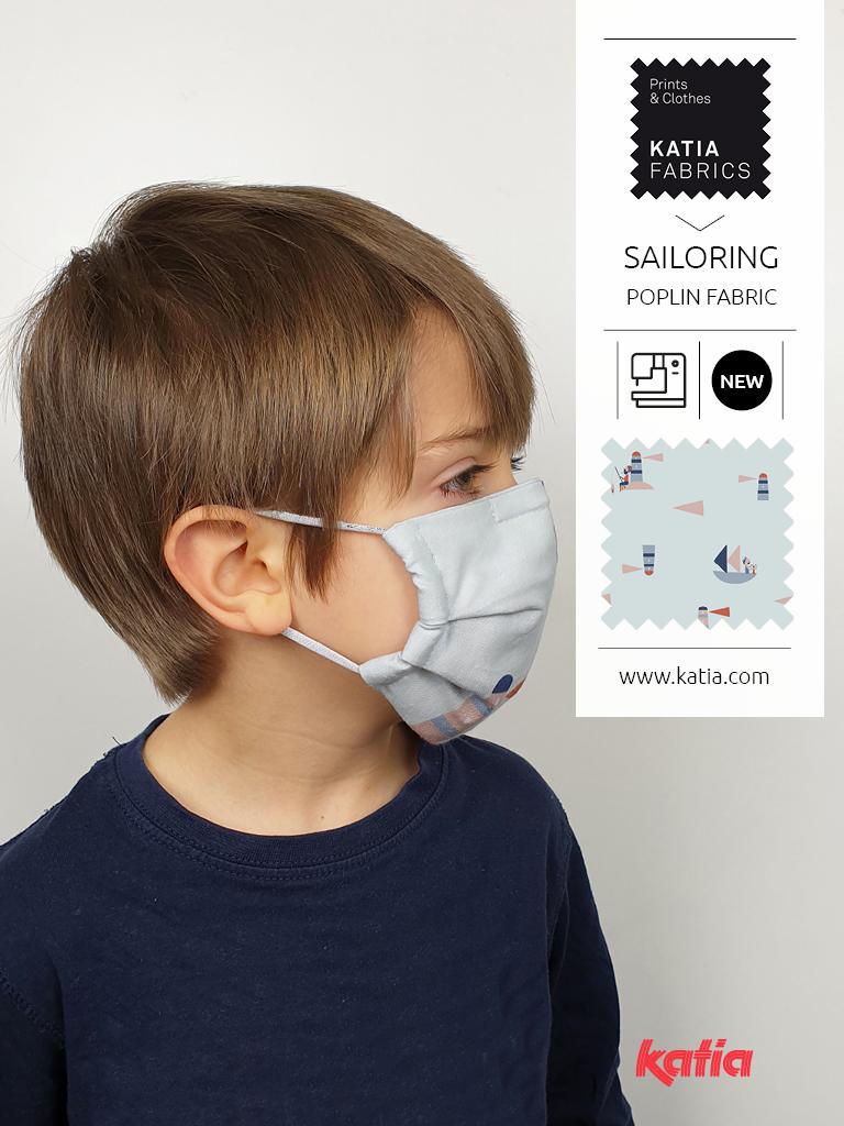 couture masque à filtre