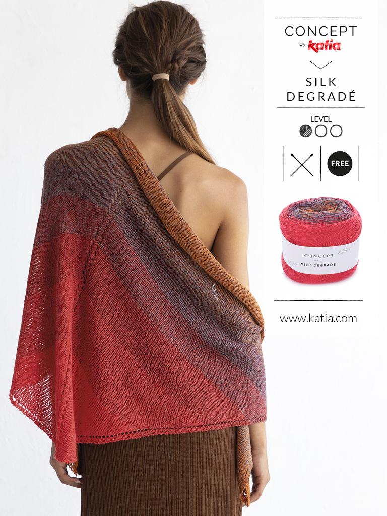 nouveautés-fil-katia-printemps-ete-2019 silk degrade
