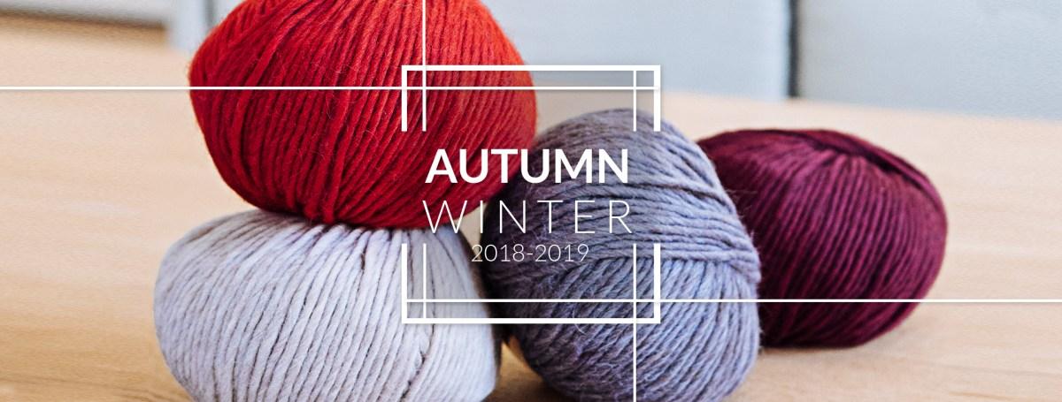Les laines Katia Automne Hiver 2018/2019: découvrez 18 nouveautés et participez à notre tirage au sort