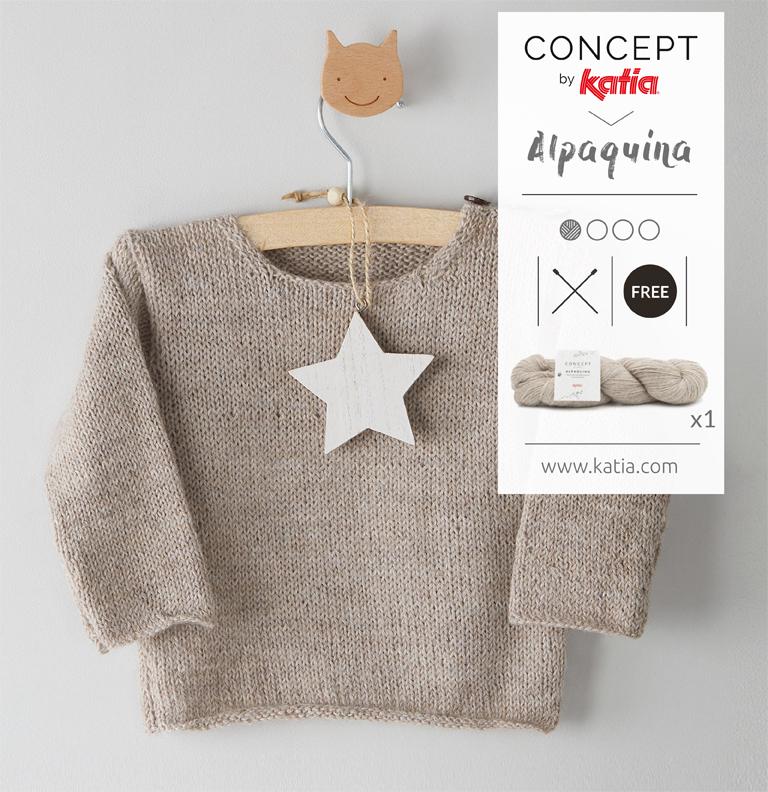 patron pull bébé tricot gratuit