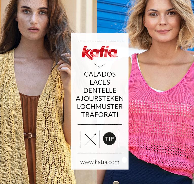 Mailles ajourées au tricot: découvrez toutes les astuces pour tricoter cette sélection de tops, châles, boléros, gilets sans manche…