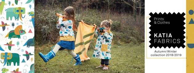 Nouvelle collection Katia Fabrics Automne Hiver 2018/2019