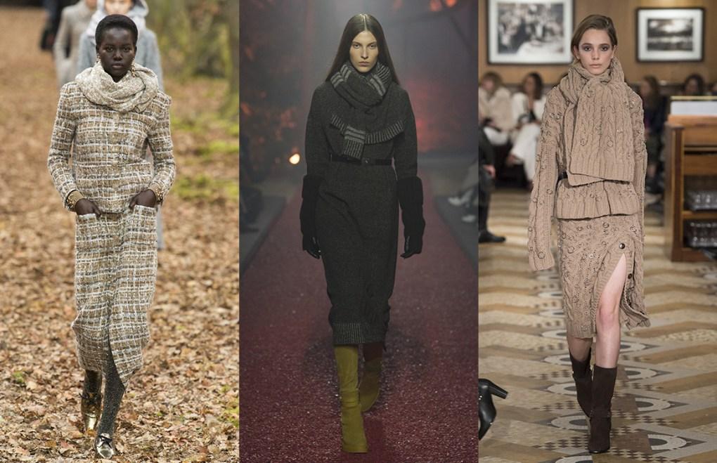 tendances mode femme automne hiver 18-19 - 2