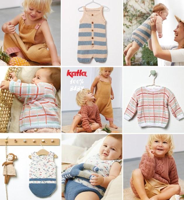 7 modèles bébé pour l'été faciles à tricoter