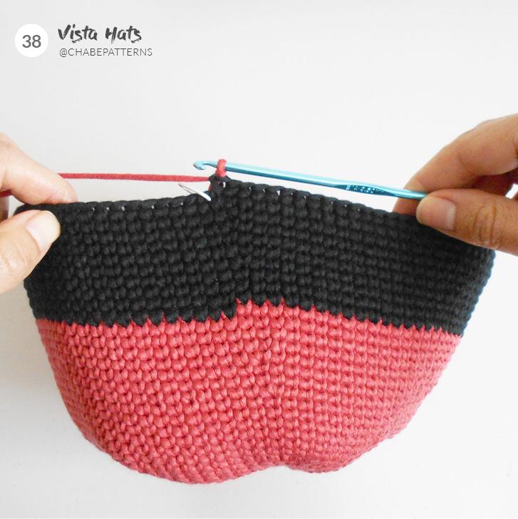 changement de couleur au crochet