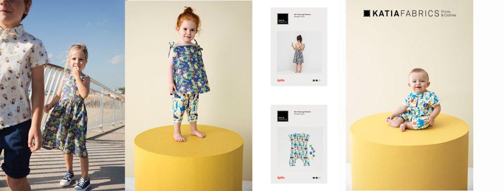 collection-tissus-katia-fabrics-printemps-ete-2019 into the jungle