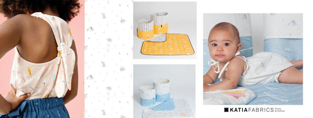 collection-tissus-katia-fabrics-printemps-ete-2019 little indians