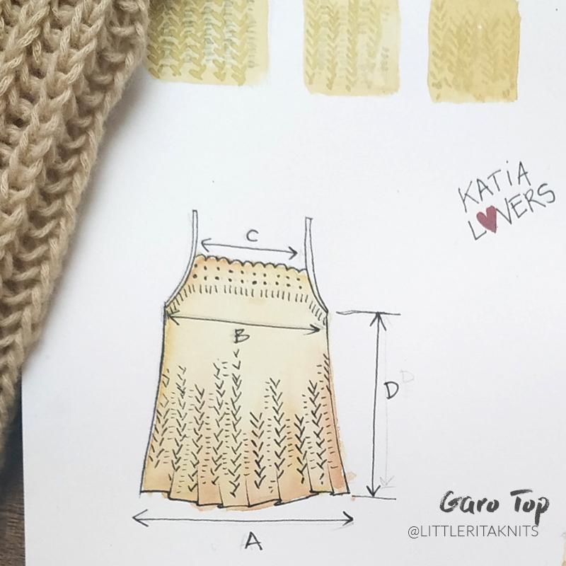 top bretelles tricot illustration 2