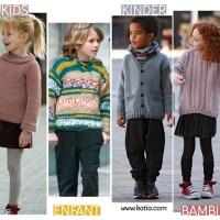 100 modelli ai ferri Bebé e Bambino per un ritorno a scuola 100% handmade