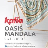 Oasis Mandala CAL 2020: Il kit è ora disponibile! Lavora all'uncinetto con i nuovi colori Katia Basic Merino