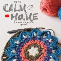 Partecipa alla sfida all'uncinetto di Ahuyama Crochet e impara a creare rilassanti mandala quadrati all'uncinetto