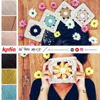 Coperta In The Mood: 4 granny square a fiori per realizzare una coperta dell'umore a uncinetto