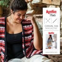 12 modelli taglie forti per lavorare ai ferri e all'uncinetto con la nuova rivista Katia Casual 106