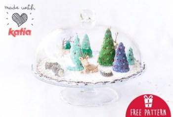Haakpatroon Mini Kerst Wereld