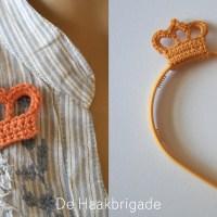 Kleur oranje voor Koningsdag met deze garens en haakpatronen!