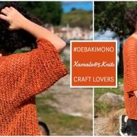 Kimono breien uit slechts één geheel met Ana Martin, winnares Katia Designers Awards