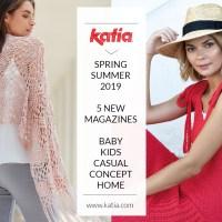 5 nieuwe Katia tijdschriften met patronen: ga deze zomer aan de slag met 265 nieuwe macramé-, brei-, en haakpatronen!