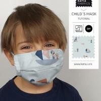 Maak een kindermondkapje met filter en neusbeugel 😷