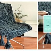 Crochet XL with Santa Pazienzia: Make a beautiful crochet blanket in fan stitch
