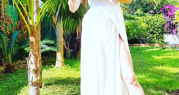 dress white, look estivo , Katia Ferrante