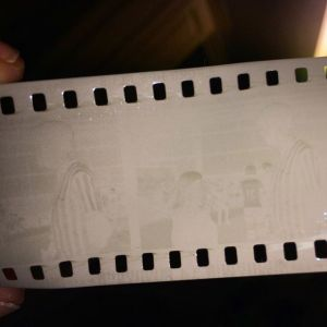 An underdeveloped film processed with Caffenol