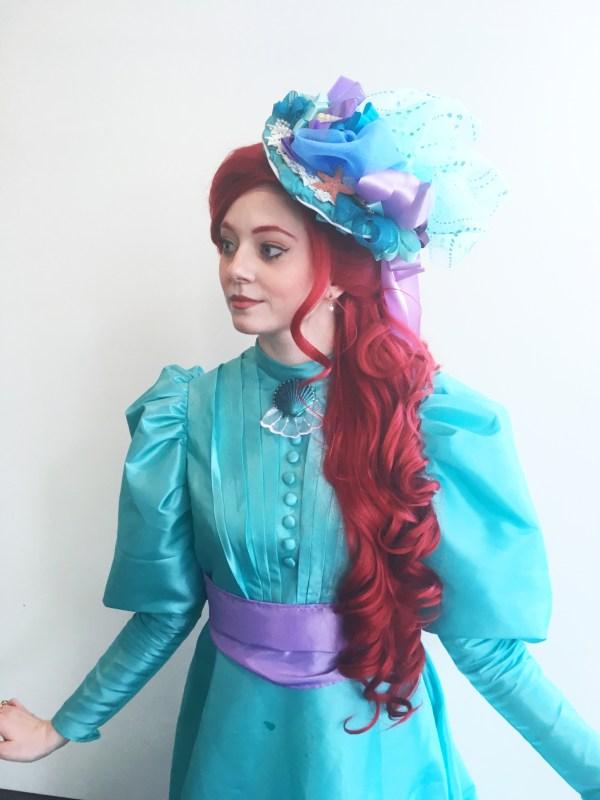 Victorian Ariel Cosplay